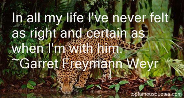 Garret Freymann Weyr Quotes