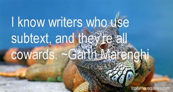 Garth Marenghi Quotes