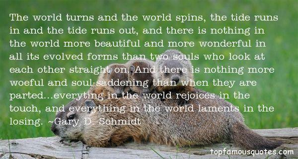Gary D. Schmidt Quotes