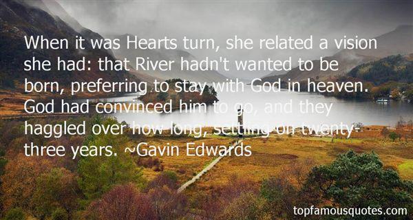 Gavin Edwards Quotes