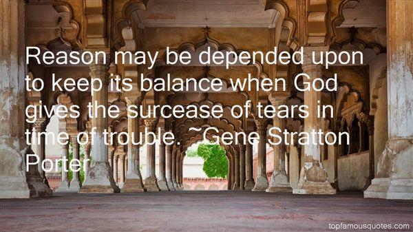 Gene Stratton Porter Quotes