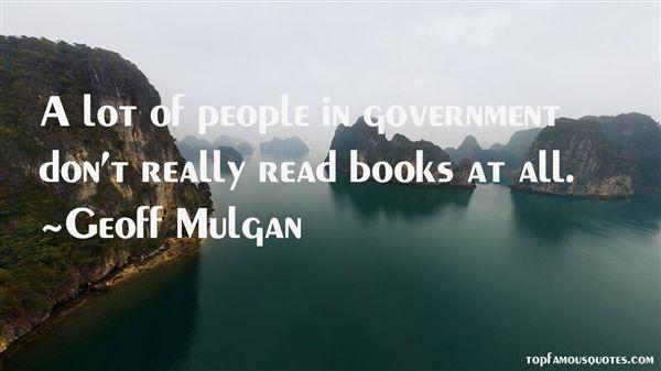 Geoff Mulgan Quotes