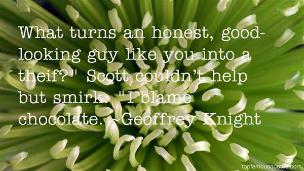 Geoffrey Knight Quotes