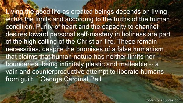 George Cardinal Pell Quotes