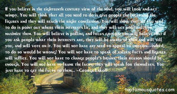 George Lakoff Quotes