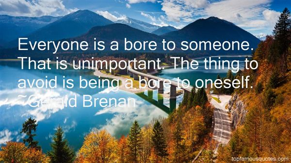 Gerald Brenan Quotes