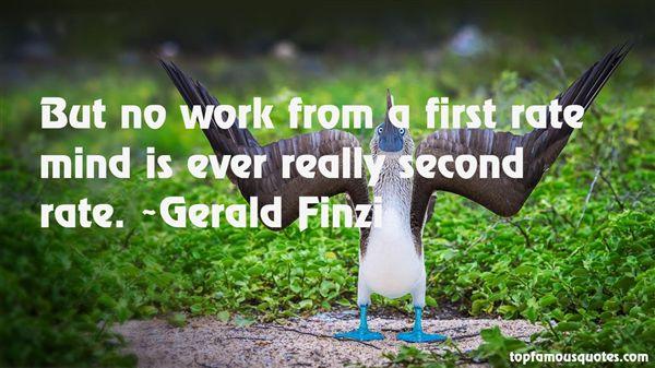 Gerald Finzi Quotes