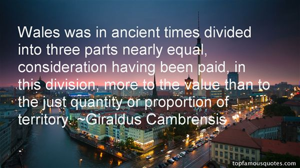 Giraldus Cambrensis Quotes