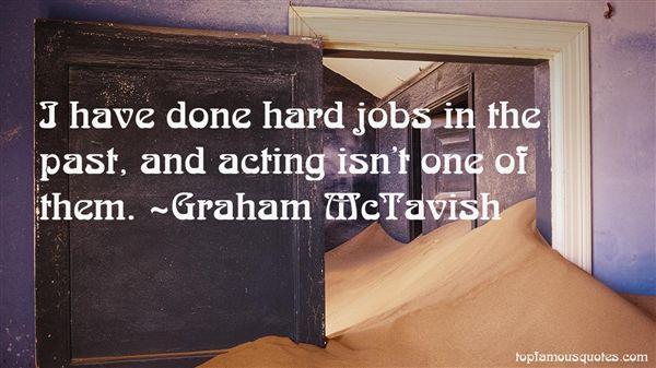 Graham McTavish Quotes