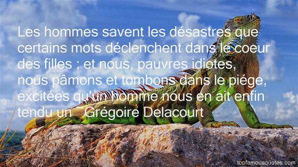 Grégoire Delacourt Quotes