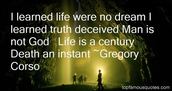 Gregory Corso Quotes