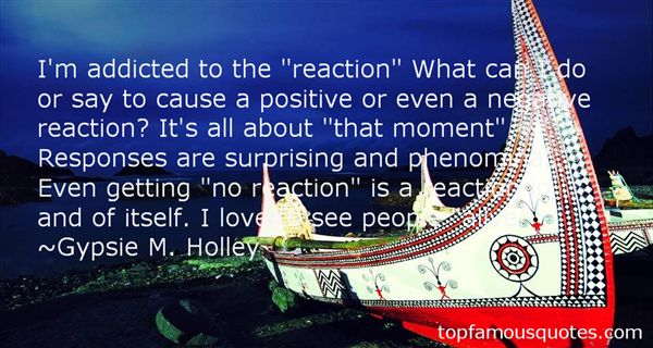 Gypsie M. Holley Quotes