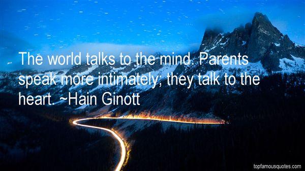 Hain Ginott Quotes