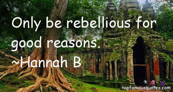 Hannah B Quotes