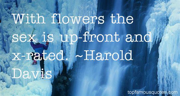 Harold Davis Quotes