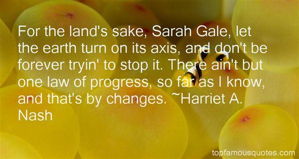 Harriet A. Nash Quotes