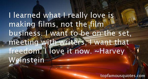 Harvey Weinstein Quotes