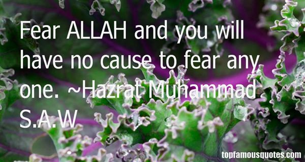 Hazrat Muhammad S.A.W Quotes