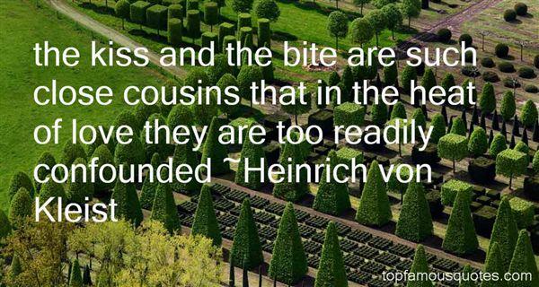 Heinrich Von Kleist Quotes
