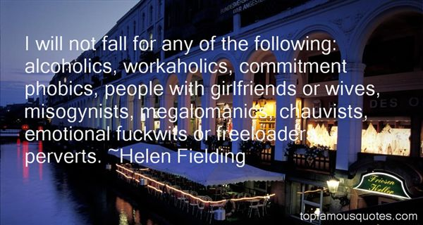 Helen Fielding Quotes
