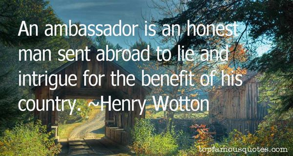 Henry Wotton Quotes