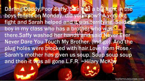 Hilary McKay Quotes