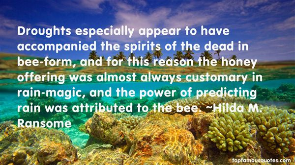 Hilda M. Ransome Quotes