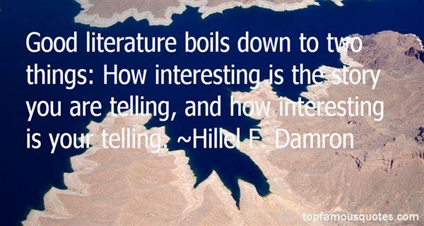 Hillel F. Damron Quotes