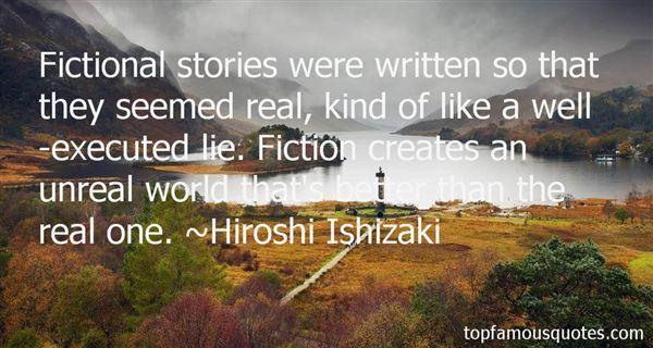 Hiroshi Ishizaki Quotes