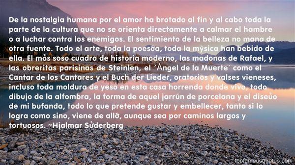 Hjalmar Söderberg Quotes