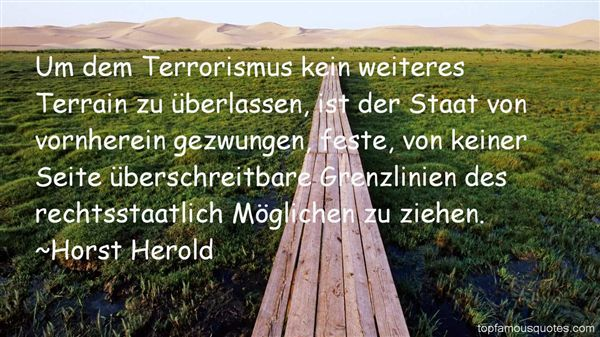 Horst Herold Quotes