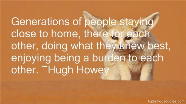 Hugh Howey Quotes