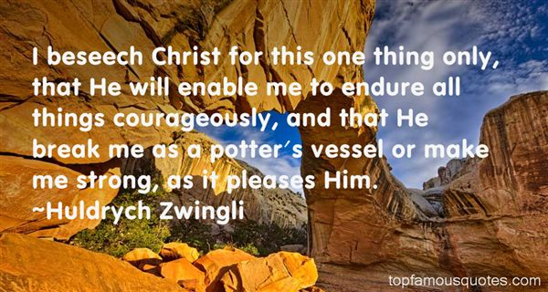Huldrych Zwingli Quotes