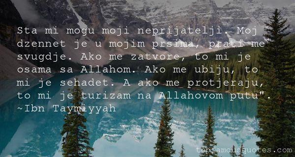 Ibn Taymiyyah Quotes