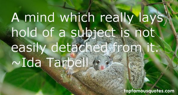 Ida Tarbell Quotes