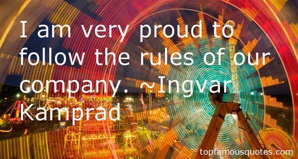 Ingvar Kamprad Quotes