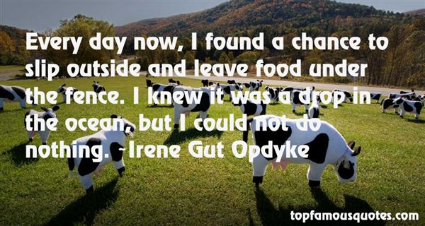 Irene Gut Opdyke Quotes