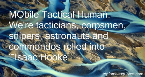 Isaac Hooke Quotes