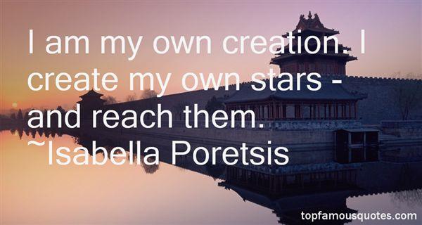 Isabella Poretsis Quotes