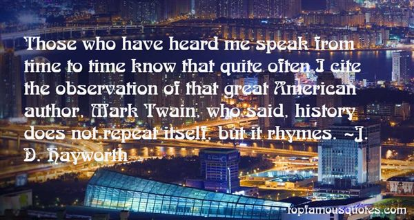 J. D. Hayworth Quotes