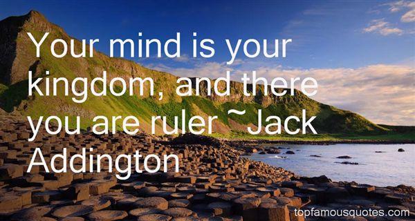 Jack Addington Quotes