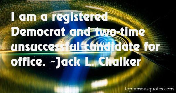 Jack L. Chalker Quotes