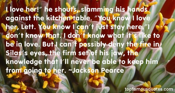 Jackson Pearce Quotes