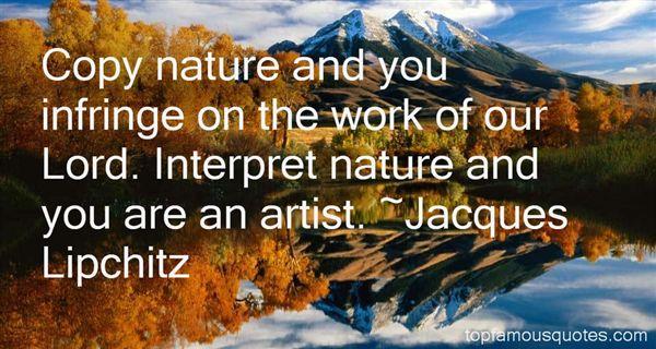 Jacques Lipchitz Quotes