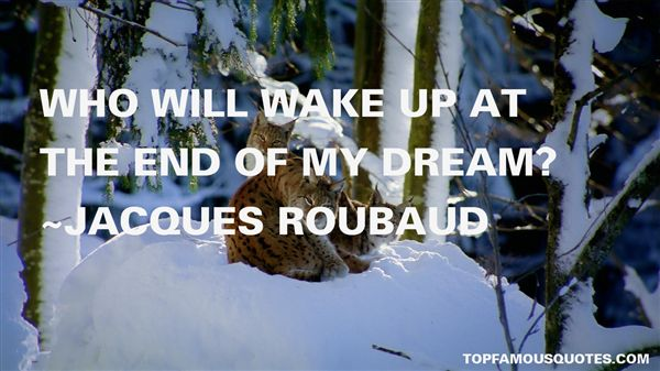 Jacques Roubaud Quotes