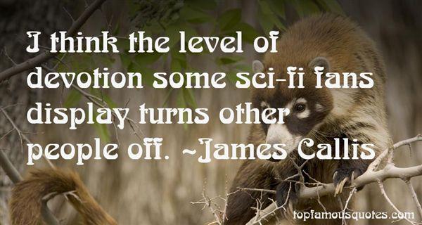 James Callis Quotes