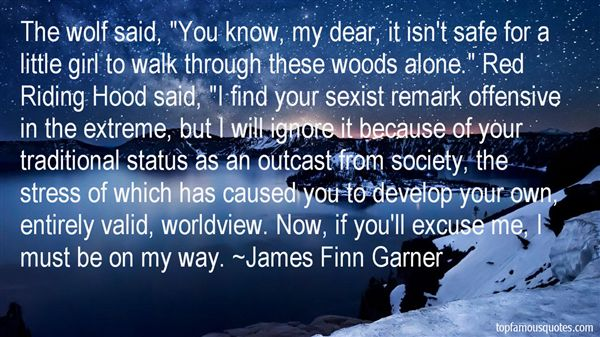 James Finn Garner Quotes