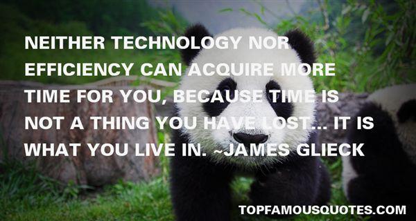 James Glieck Quotes