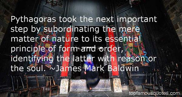 James Mark Baldwin Quotes