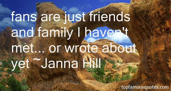 Janna Hill Quotes